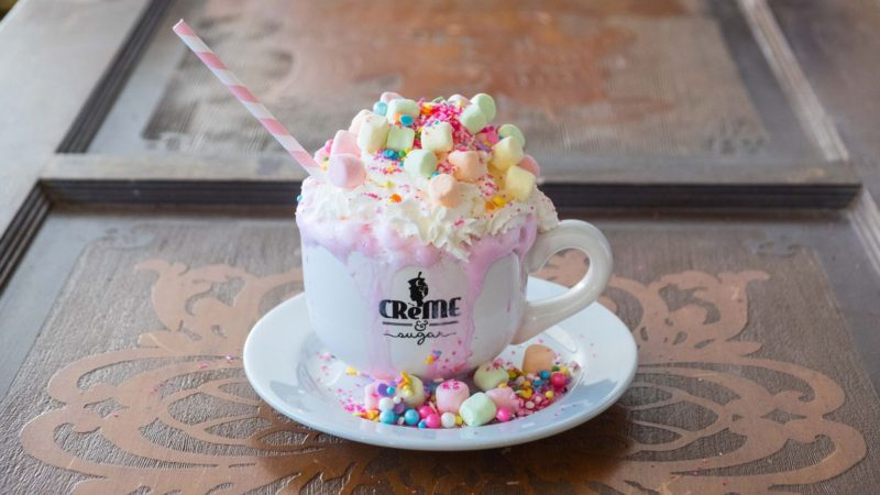 Creme & Sugar: Home of the Unicorn Hot Chocolate