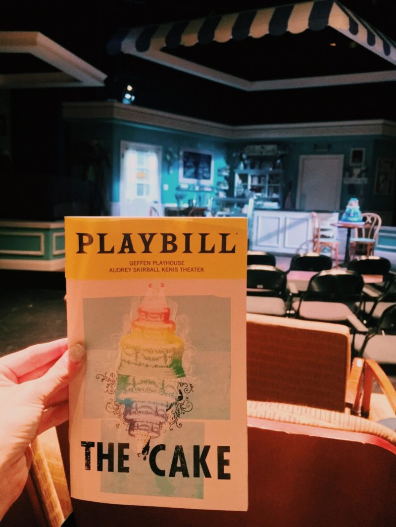 THE CAKE : GEFFEN PLAYHOUSE; AUDREY SKIRBALL KENIS THEATRE